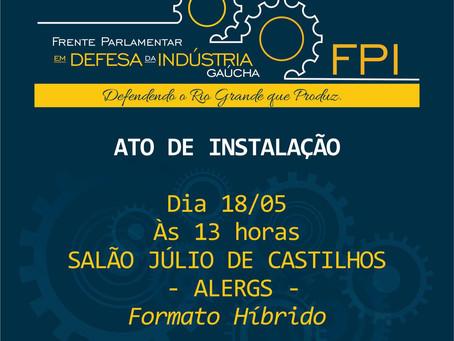 Frente Parlamentar em defesa da Indústria gaúcha será instalada na terça, dia 18 de maio