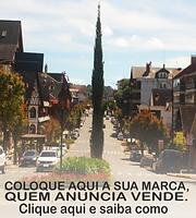 Avenida Borges De Medeiros em Gramado RS