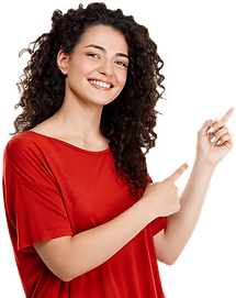 beautiful-curly-girl-pointing-finger.png