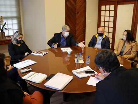 Prefeitura projeta retornos as aulas presenciais com segurança para estudantes e professores