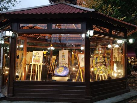 Coreto da Praça Major Nicoletti vira vitrine do Mercado da Arte Gramado