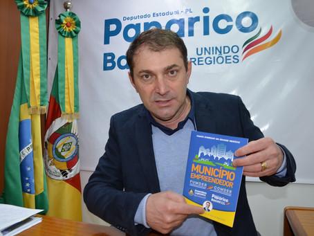Deputado Paparico Bacchi lança cartilha para estimular o empreendedorismo nos municípios