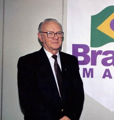Nelson Dinnebier, prefeito que apoiou na época da inauguração da emissora.