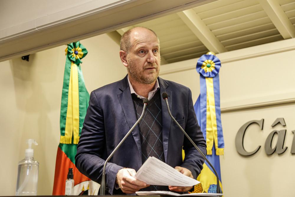 Professor Daniel (FOTO) reforça o convite para o evento, que deverá contar com a presença de representantes da EGR, do Daer e de entidades representativas.