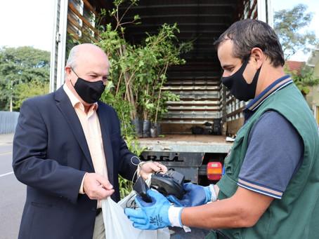 Gramado + Verde recolhe quase meia tonelada de lixo eletrônico e doa 200 árvores