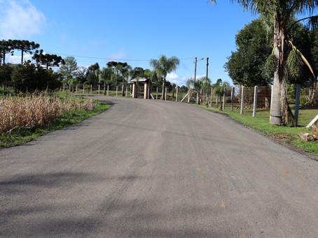 Prefeitura conclui recuperação de mais de 2 quilômetros na Serra Grande