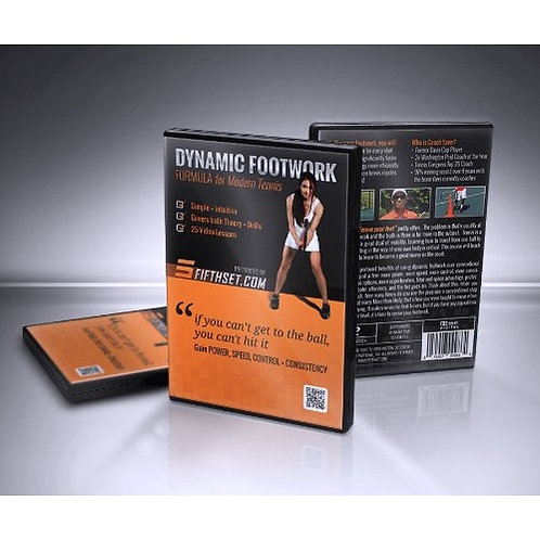 Dynamic Footwork Formula DVD (FREE SHIPPING)