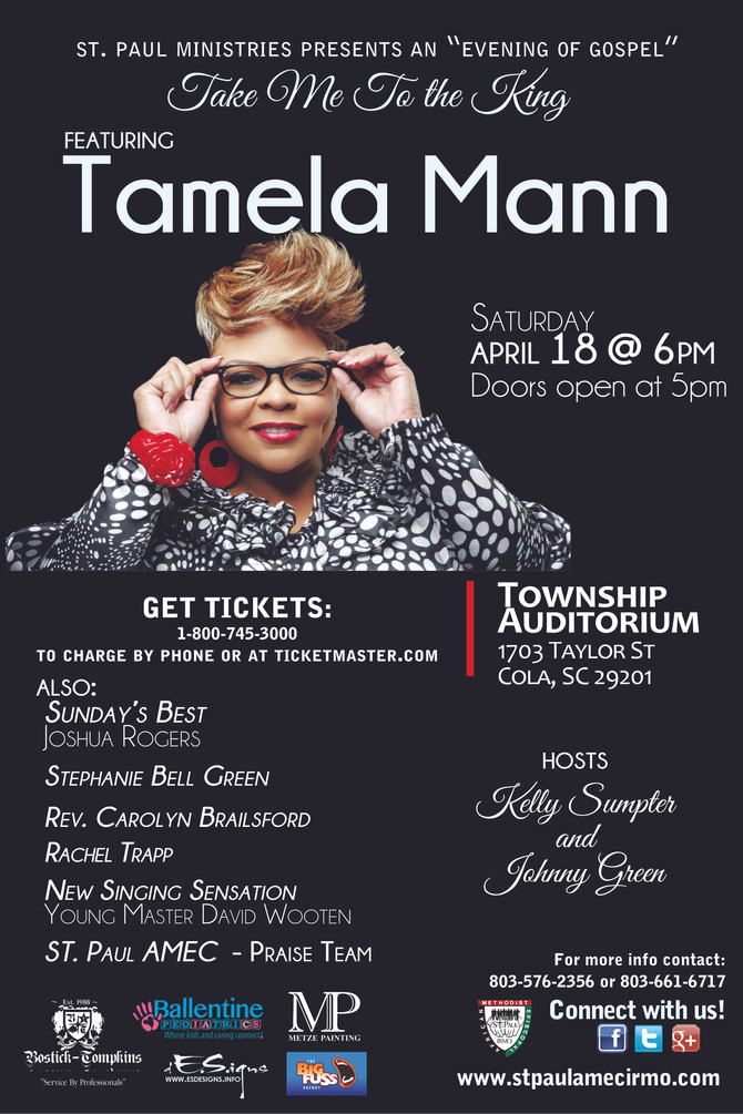 Get your tickets today!!!