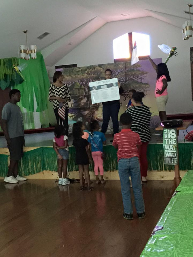 VBS 2015 Journey off the Map!