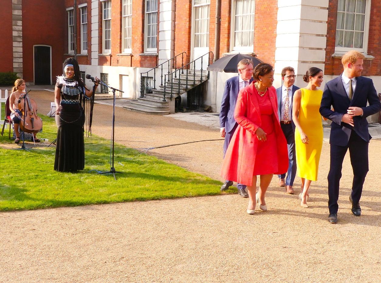 Lorraine Lionheart royal family performance