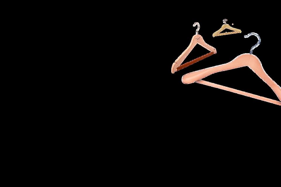 laundry hangers floating