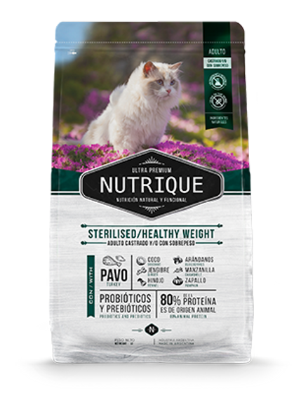 Nutrique Young Adult Sterilized H.Weight 2 Kg