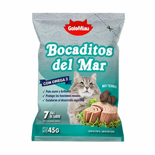 Snacks Golomiau Bocaditos del Mar