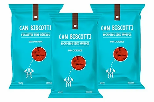 Snacks Can Biscotti Semi Humedos para cachorros