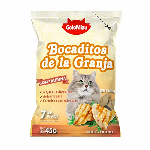 Snack Golomiau Bocaditos de la Granja