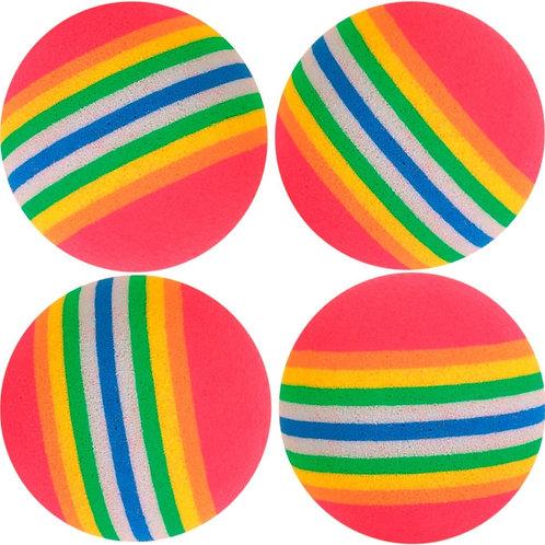 Serie pelotas de gomaespuma, ø 3.5 cm.