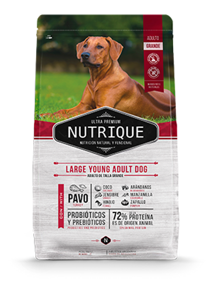 Nutrique Large Young Adult Dog 15 Kg
