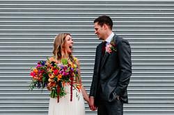 boho wedding at Upwaltham Barns