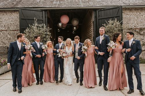 wedding inspiration at Upwaltham barns