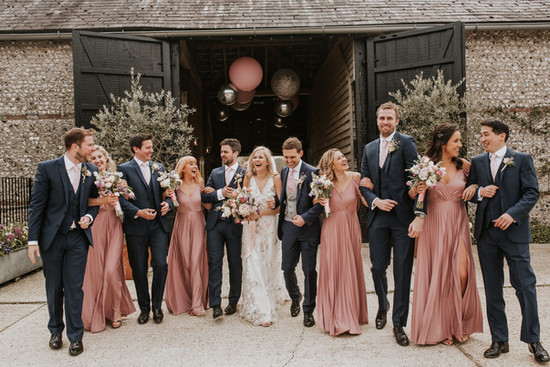 wedding inspiration at Upwaltham barns