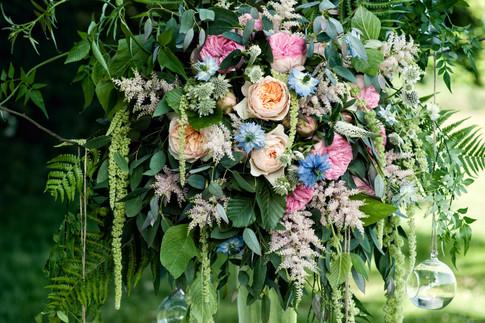 Wildflower Arrangements for Wedding Centrepieces