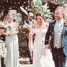 Sussex wedding at Bignor Park