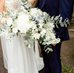 peony wild bouquet summer wedding