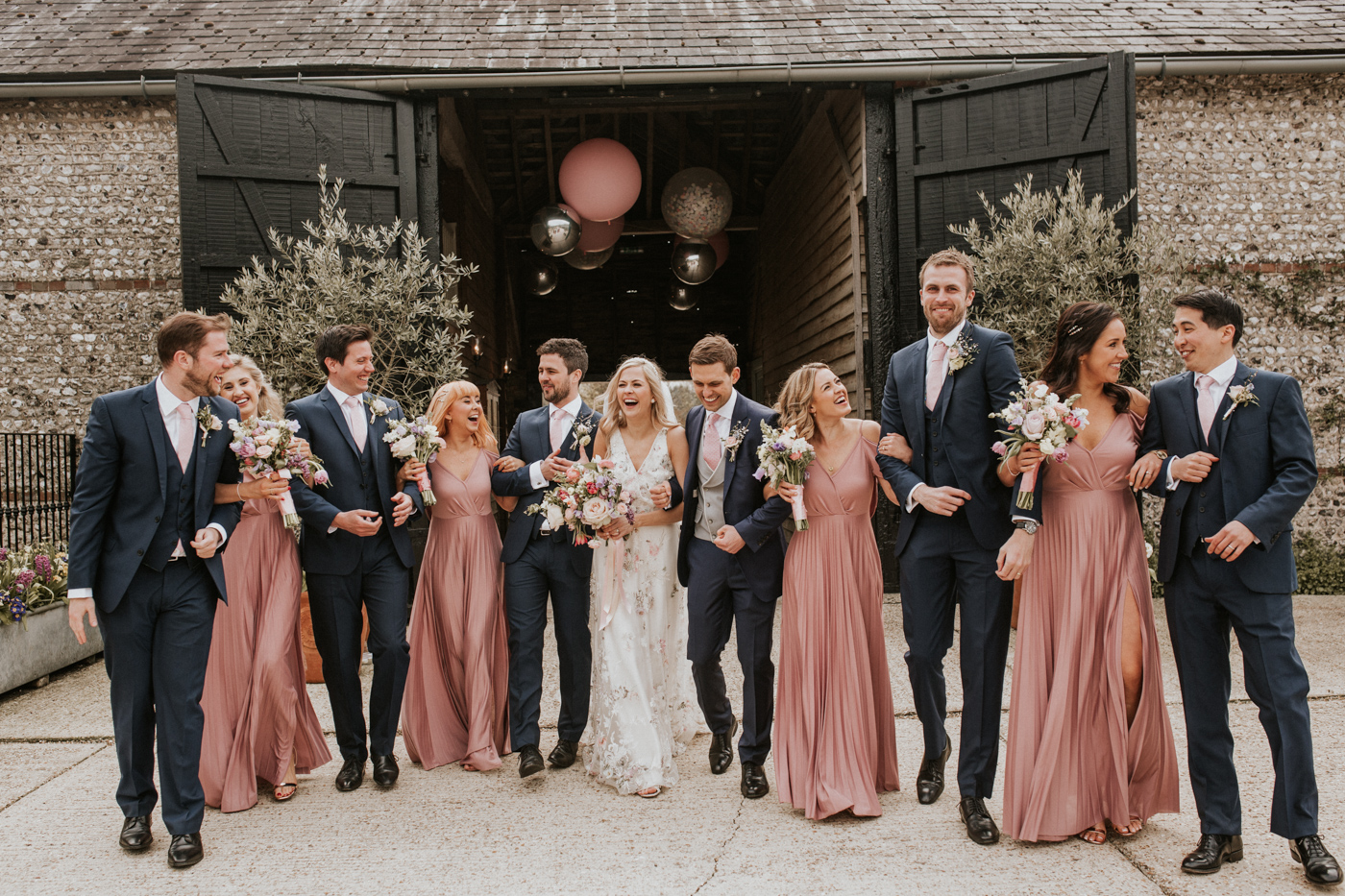 Sussex Barn Spring wedding