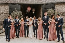Sussex Barn Spring wedding