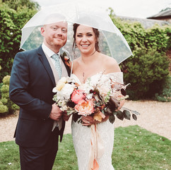 Style-led wedding flowers Bignor Park