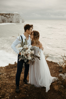 Beach wedding, elopement wedding