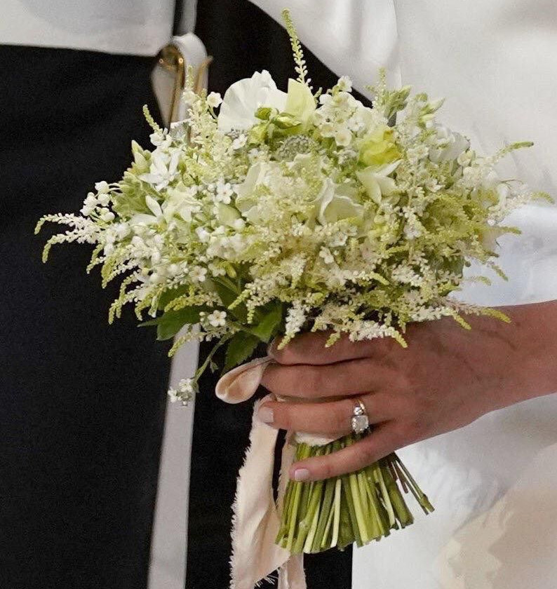 Meghan Markle bouquet
