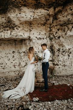 Beach french coast destionation wedding