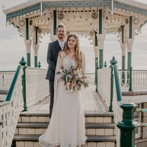 Spring Boho Wedding in Brighton - Sussex