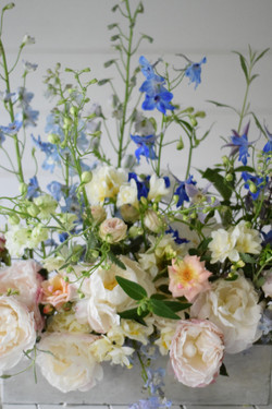 fine art elegant wedding flowers