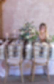 sussex wedding florist, boho bride with winter bouquet, table entre, wedding table decor