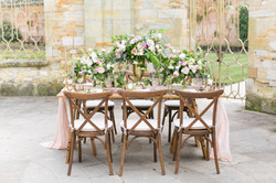 elegant floral display for a wedding