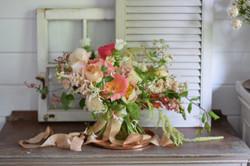 luxury summer bridal bouquet