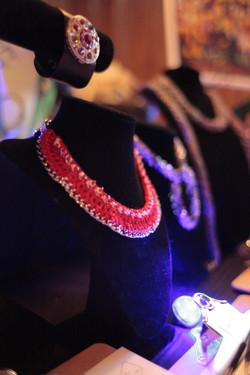 Custon knit jewelry