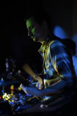 Tristan Gajate-Garcia on bass