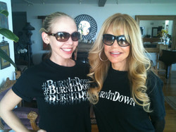 Alex and Dyan Cannon