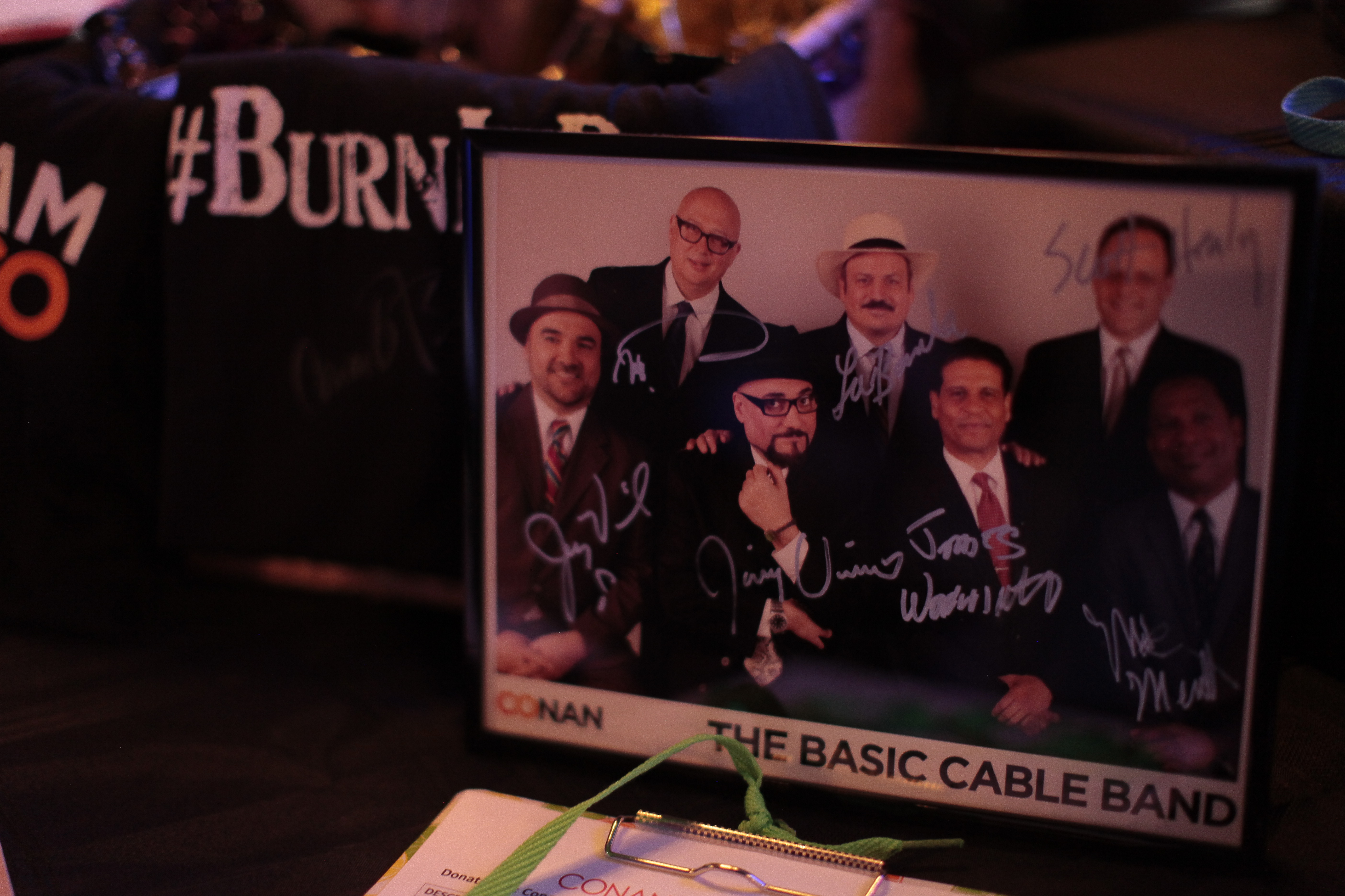 The Basic Cable Band signed photo