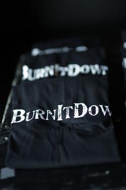 #BurnItDown t-shirts