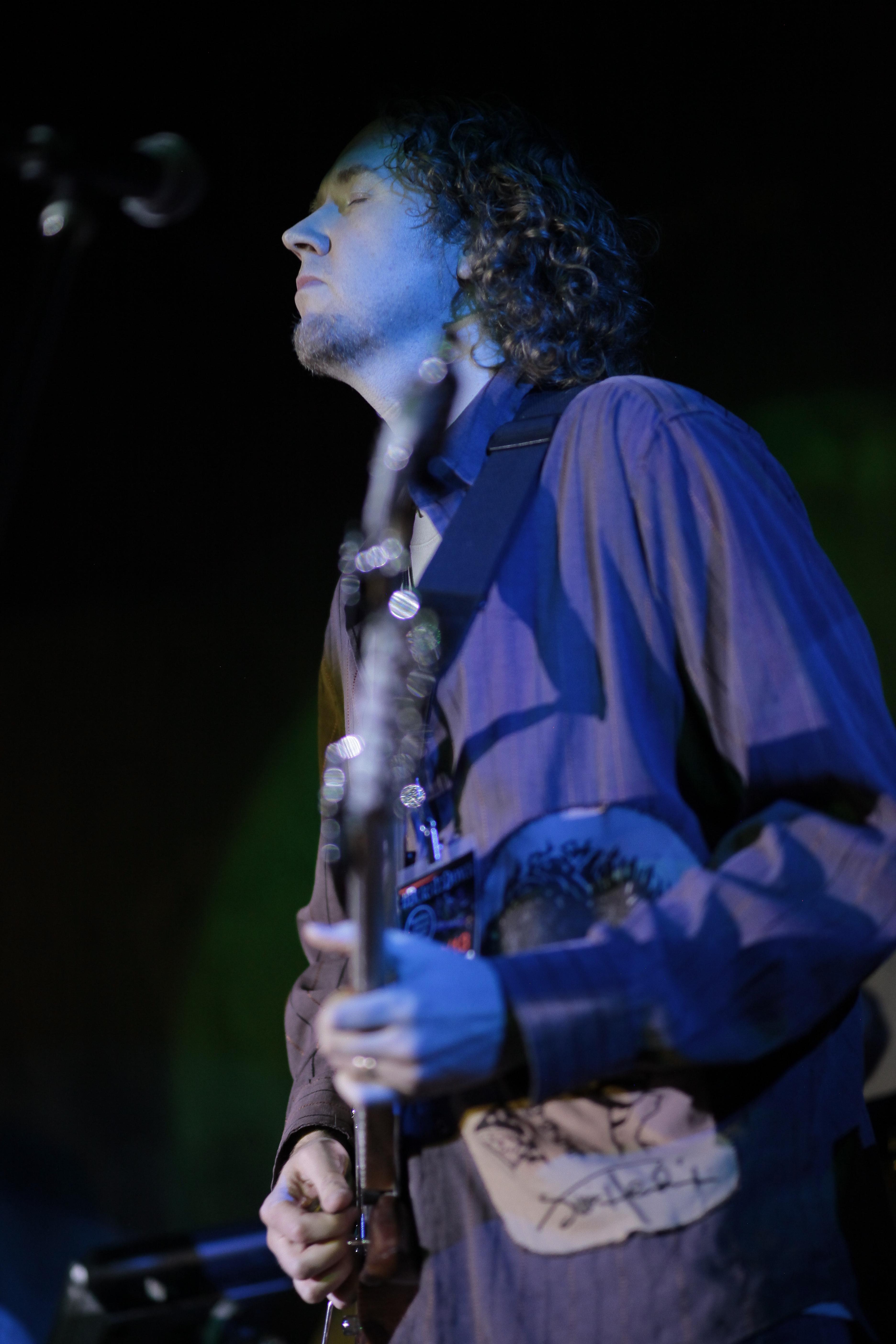 Jared Meeker on guitar