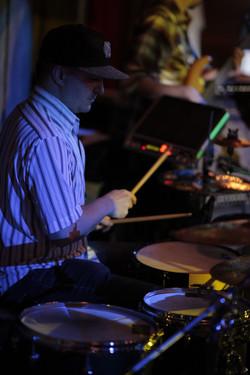 Blake Colie on drums