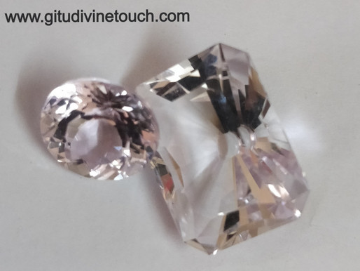 Kunzite for new love and releasing old traumas and anxiety