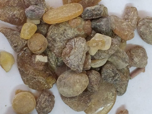 Amber stone for protection from psychic attack
