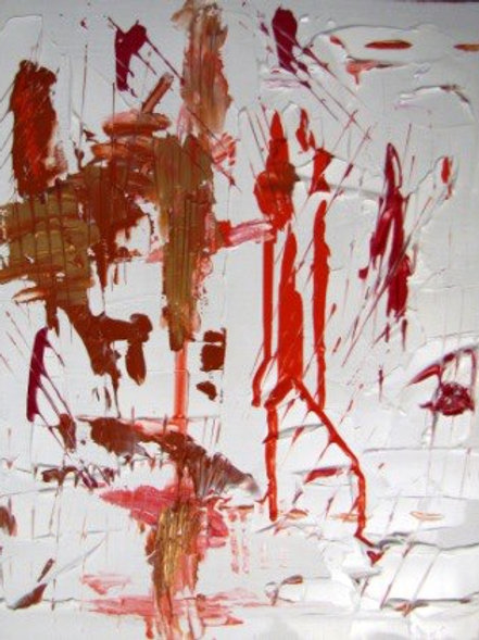 Acrobates - Acrylique - 50x60 cm