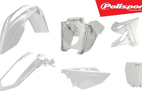 POLISPORT Plastic Kit Clear/Restyle Yamaha