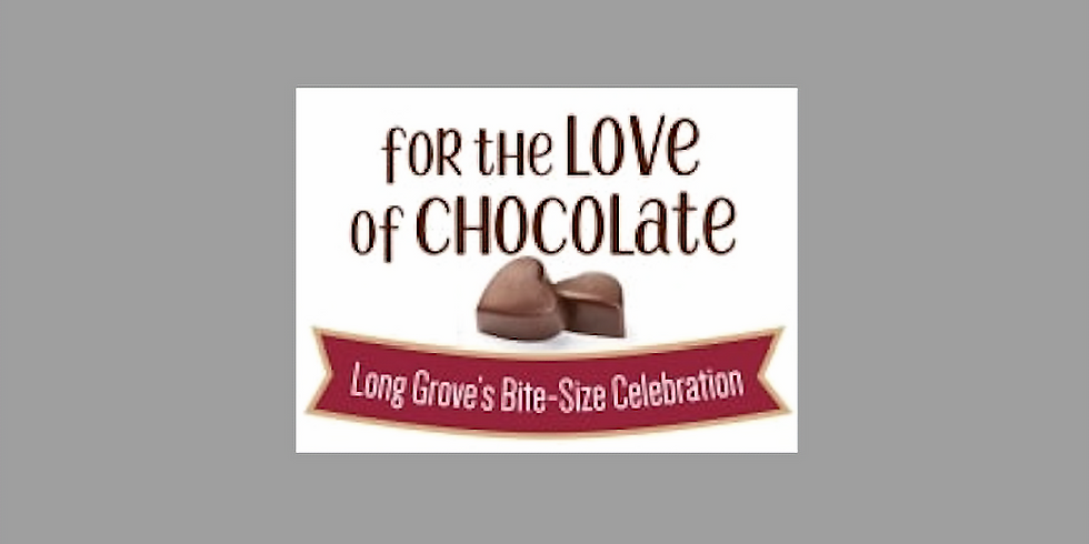 For the Love of Chocolate: Long Grove's Bite-Size Celebration